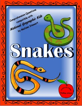 Snakes / Compatible with National Geographic Kids
