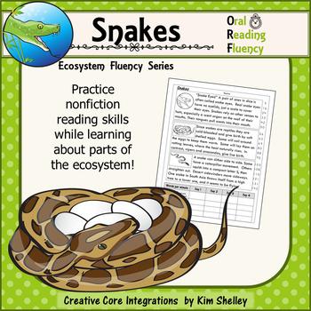 Snakes - Ecosystem Fluency FREEBIE