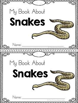 Snakes Emergent Reader