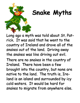 Snakes...Fact or Myth