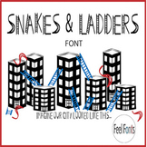 Snakes & Ladders Font - Personal Use