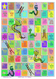 Snakes & Ladders Scales Game - AMEB Grade 1 PFL