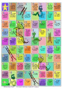 Snakes & Ladders Scales Game - St Cecilia 2017 Preliminary Grade Piano Syllabus