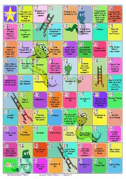Snakes & Ladders Scales - Suzuki Piano Book 1 Game 3