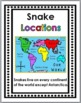 Snakes Science, Literacy, and Geography - Snakes Unit - Sn
