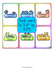 Snakes Word Family Card Game with 10 Word Families - Set 5