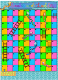 Snakes and Ladders Addition/Subtraction and Sight Words