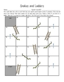 Snakes and Ladders Articulation Practice