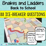 Snakes and Ladders - Back to School : Getting to know you