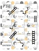 Snakes and Ladders Board Game, Spanish Ser Ir Estar Present Tense