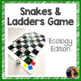 Ecology Review Game Snakes and Ladders
