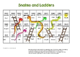 Snakes and Ladders French Adjectives