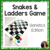 Genetics Review Game Snakes and Ladders