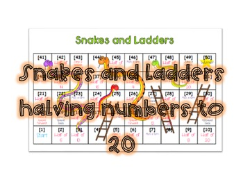 Snakes and Ladders Halving numbers
