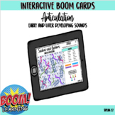 Snakes and Ladders Interactive Boom Card Game for Articula