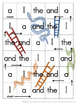 Snakes and Ladders Pre-Primer to Grade 3 Dolch Words