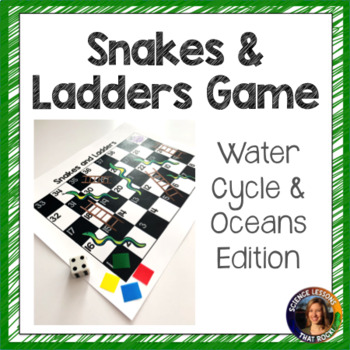 Snakes and Ladders- Water cycle and Oceans