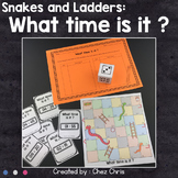 Snakes and Ladders - What time is it ?