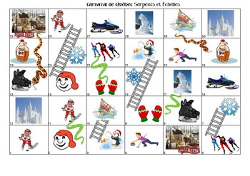 Snakes and Ladders for le Carnaval de Québec