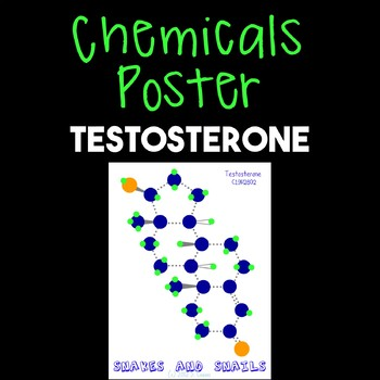 Chemicals Poster--Testosterone