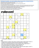 Snakeword - Science Puzzles 1 & 2