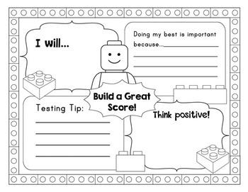 Building Bricks Test Prep Tips and Motivational Materials