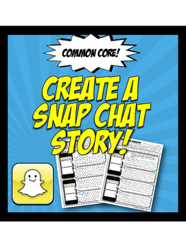 Snap Chat Story for Book Character or Historical Figure Analysis