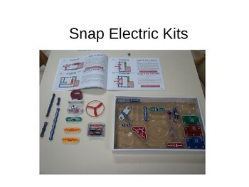 Snap Circuit Kit Presentation