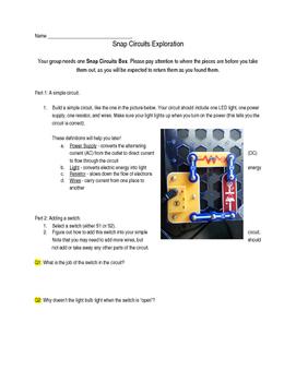 Snap Circuits Exploration
