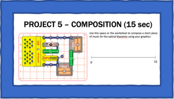 Snap Circuits® Sound - ***STEAM ACTIVITY*** Composing & Performing Electronic Mu