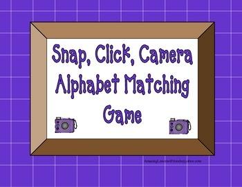 Snap Click Alphabet Matching Game
