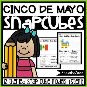 Snap Cube Activities for Cinco de Mayo STEM
