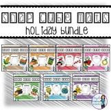 Snap Cube Activity Mats Holiday BUNDLE