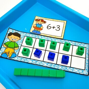 Snap Cube Bundle Number Sense And Addition and Subtraction