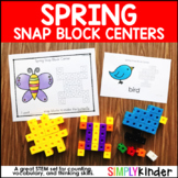 Spring Activities - Spring Snap Block Center