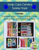 Snap Cube Centers Starter Set (Patterns, Build-It, Sorting