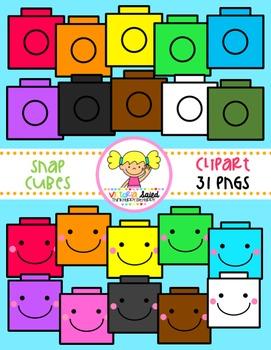 Snap Cube Clipart