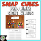Dolch Pre-Primer Sight Words Snap Cubes