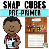 Snap Cubes Sight Words Pre-Primer