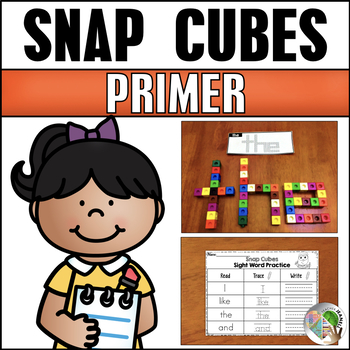 Dolch Primer Sight Words Snap Cubes