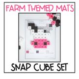 Snap Cube Fine Motor Activities - FARM THEMED
