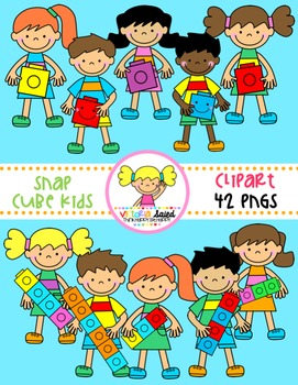 Snap Cube Kids Clipart