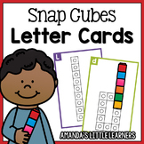 Snap Cube Letter Formation Cards A-Z