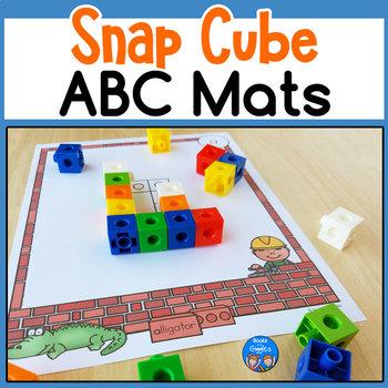 Snap Cube Letter Recognition Activity