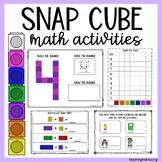 Snap Cube Math Activities