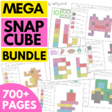 Snap Cube Math Centers ENDLESS BUNDLE