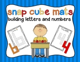 Snap Cube Mats: Building Letters and Numbers