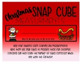 Snap Cube Measurements - Christmas