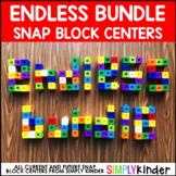 Snap Block Math Center Bundle (Reading Center Too)