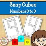 Snap Cube Numbers Worksheets